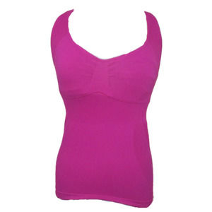 Athletic Essentials AE Pink Ribbed Tank